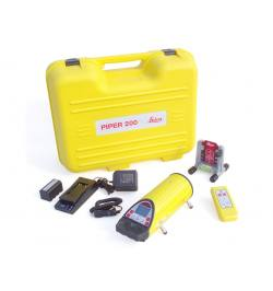 Laser liniowy Leica PIPER 200 + bateria + pilot + tarcza