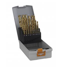 Zestaw wierteł do metalu Hawera HSS-TIN 25-elementów