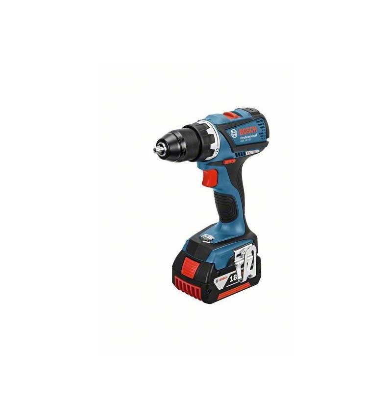 Wiertarko-wkrętarka Bosch GSR 18 V-EC 2x5,0 Ah LBoxx