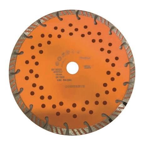 Tarcza diamentowa Turbosa do betonu 230x2,6x22,2