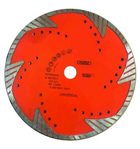 Tarcza diamentowa uniwersalna ProfiCut Rapid TURBO 230x22,2