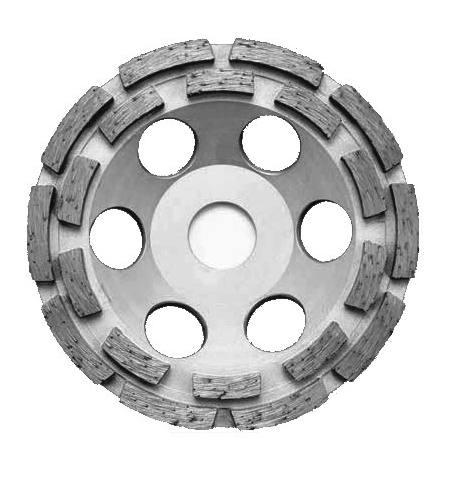 Tarcza garnkowa dwurzędowa do szlifowania betonu ProfiCut Standard 125x22,2