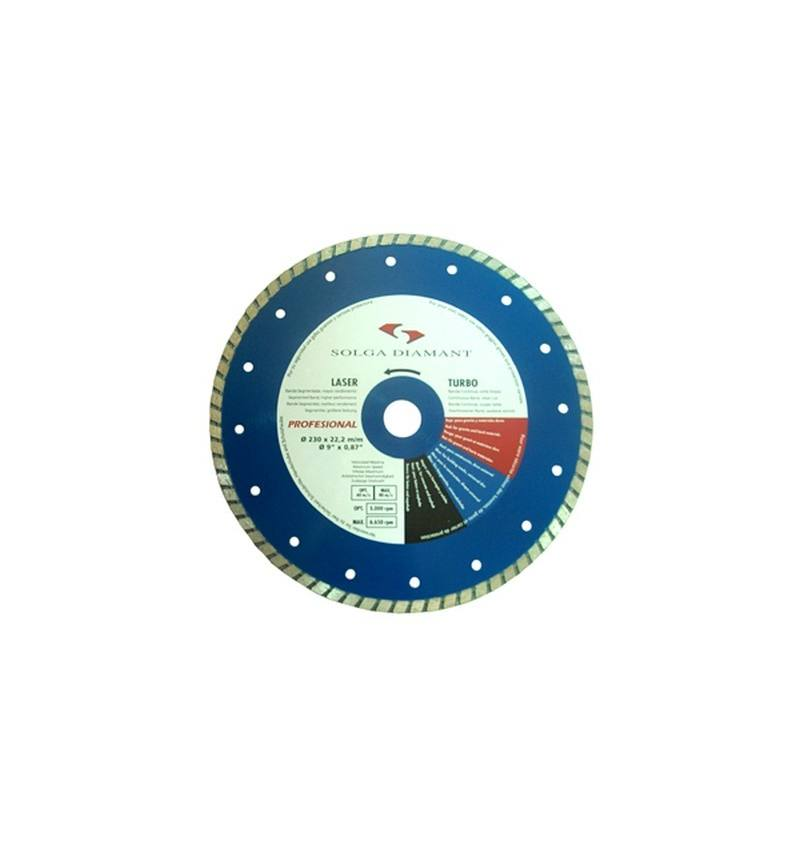 Tarcza diamentowa uniwersalna Solga Turbo Professional Line 115 mm