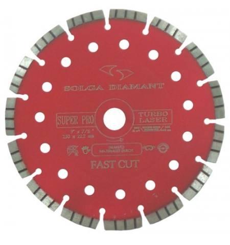 Tarcza diamentowa do betonu Solga Laser Hard Material Pro 125 mm