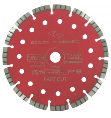 Tarcza diamentowa do betonu Solga Laser Hard Material Pro 150 mm