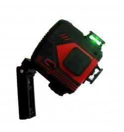 Laser Krzyżowy BEITER Bart 3D 3X360º (wiązka czerwona)