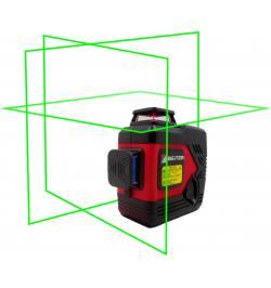 Laser Krzyżowy BEITER Bart 3DG 3X360º (wiązka zielona)