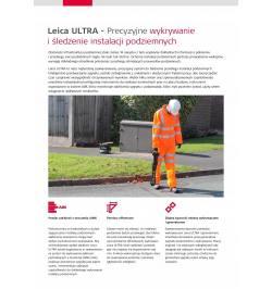 Wykrywacz instalacji LEICA ULTRA 5W