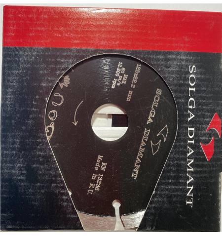 Tarcza diamentowa Laser Abrasive Material Pro 125x22,2x2,6x8