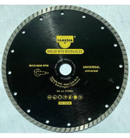 SAMEDIA GERMANY Tarcza diamentowa uniwersalna 230x22,2 3x7