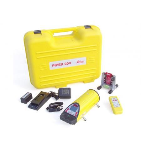 Laser liniowy Pipper 200,pilot,akum,tarczka,ładowarka